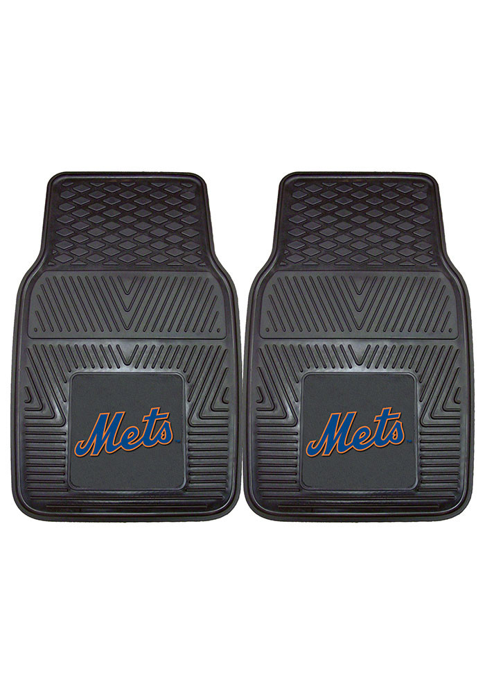 New York Mets 18x27 Vinyl Car Mat - Image 2