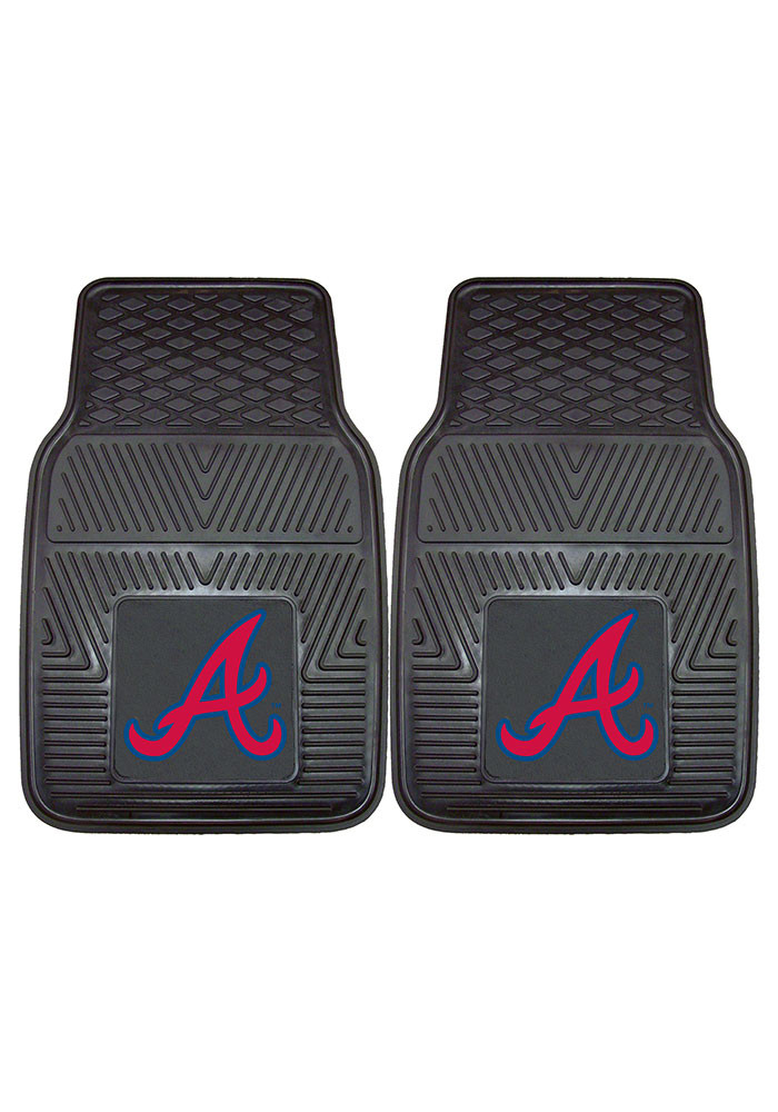 Atlanta Braves 18x27 Vinyl Car Mat - Image 2