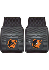 Sports Licensing Solutions Baltimore Orioles 18x27 Vinyl Car Mat - Black