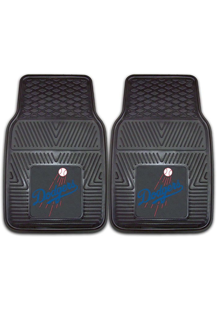 Sports Licensing Solutions Los Angeles Dodgers 18x27 Vinyl Car Mat - Black - Image 1