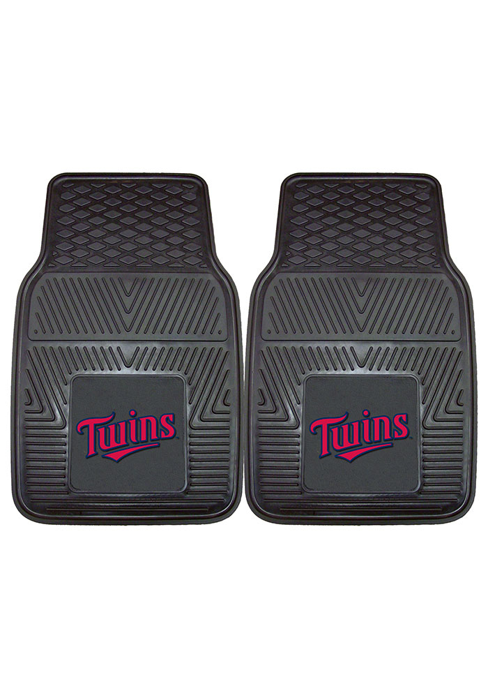 Minnesota Twins 18x27 Vinyl Car Mat - Image 2