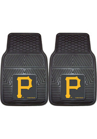 Sports Licensing Solutions Pittsburgh Pirates 18x27 Vinyl Car Mat - Black