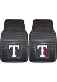 Sports Licensing Solutions Texas Rangers 18x27 Vinyl Car Mat - Black