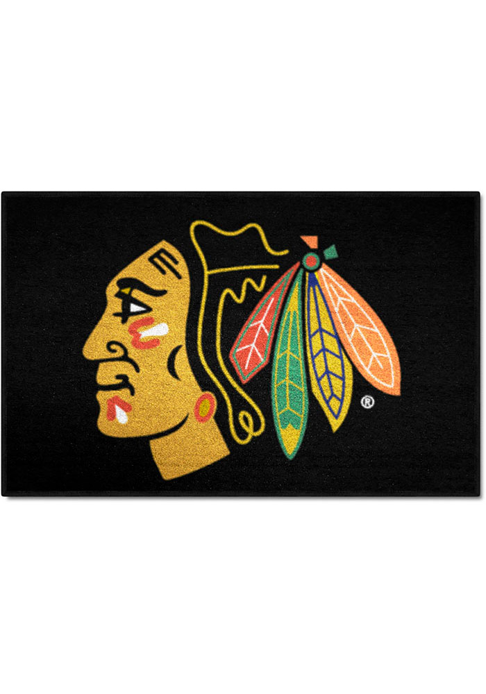 Chicago Blackhawks 19x30 Starter Interior Rug - Image 1