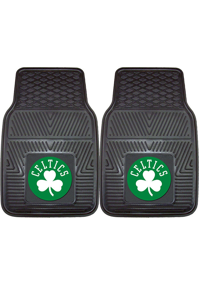 Boston Celtics 18x27 Vinyl Car Mat - Image 1
