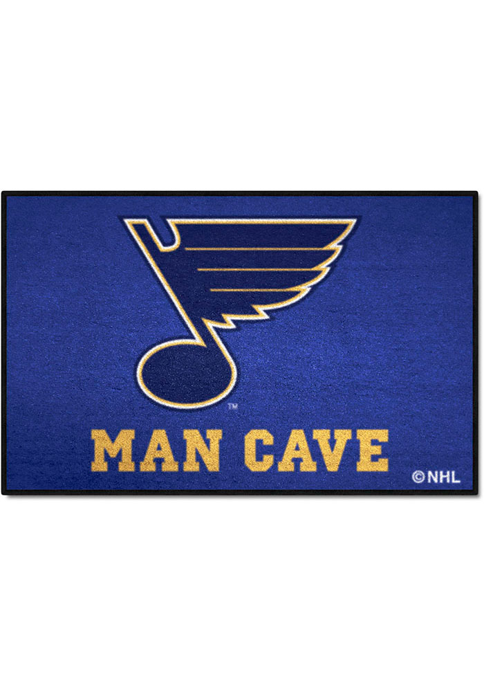 St. Louis Blues 19x30 Starter Interior Rug - Image 1