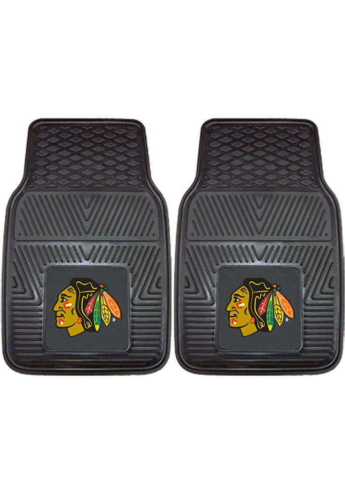 Chicago Blackhawks 18x27 Vinyl Car Mat - Image 1