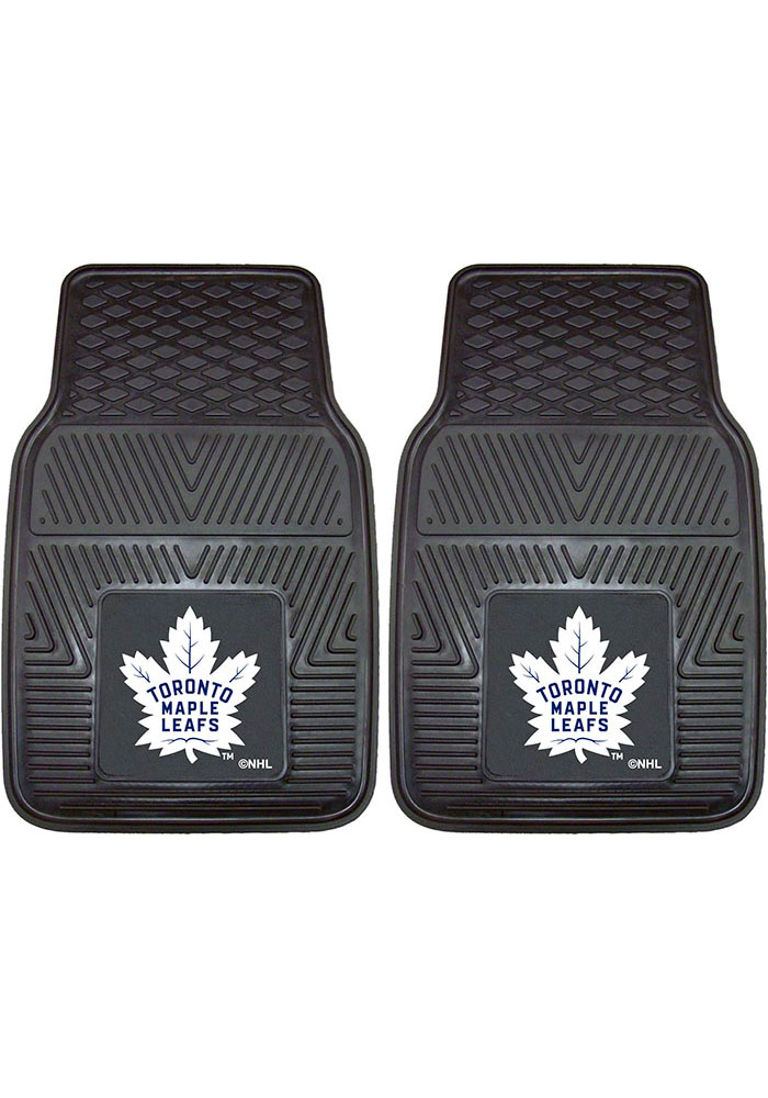 Sports Licensing Solutions Toronto Maple Leafs 18x27 Vinyl Car Mat - Black - Image 1