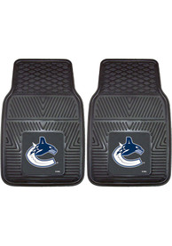 Sports Licensing Solutions Vancouver Canucks 18x27 Vinyl Car Mat - Black