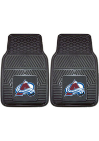 Sports Licensing Solutions Colorado Avalanche 18x27 Vinyl Car Mat - Black