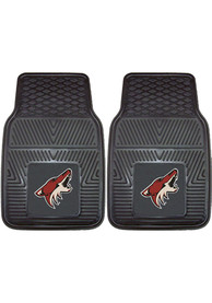 Sports Licensing Solutions Arizona Coyotes 18x27 Vinyl Car Mat - Black