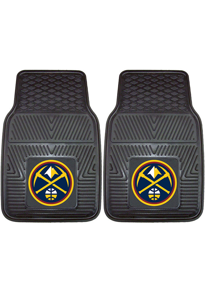 Denver Nuggets 18x27 Vinyl Car Mat - Image 1