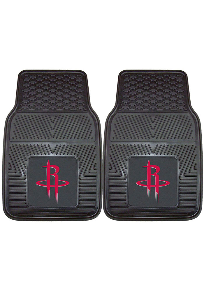 Houston Rockets 18x27 Vinyl Car Mat - Image 1