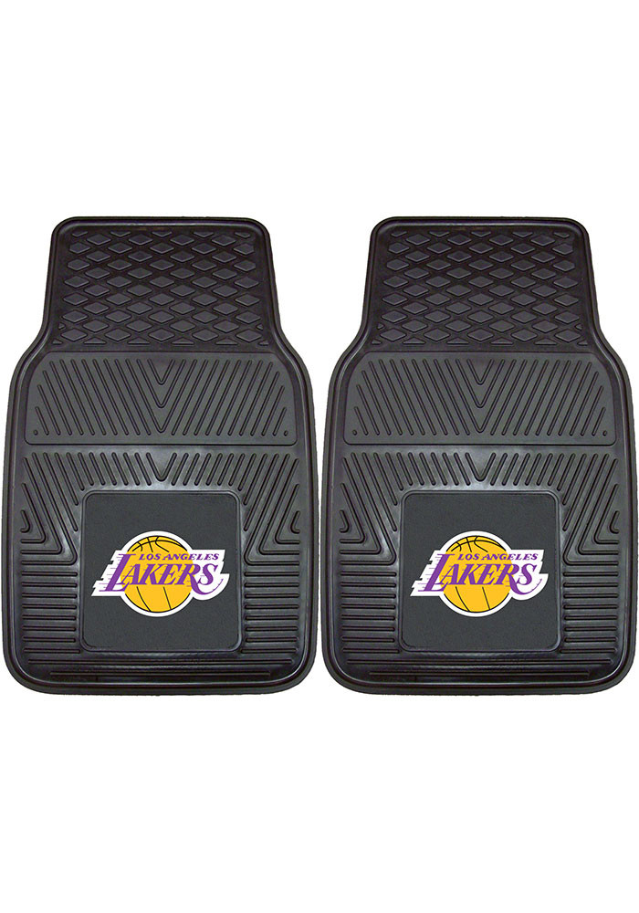Los Angeles Lakers 18x27 Vinyl Car Mat - Image 1