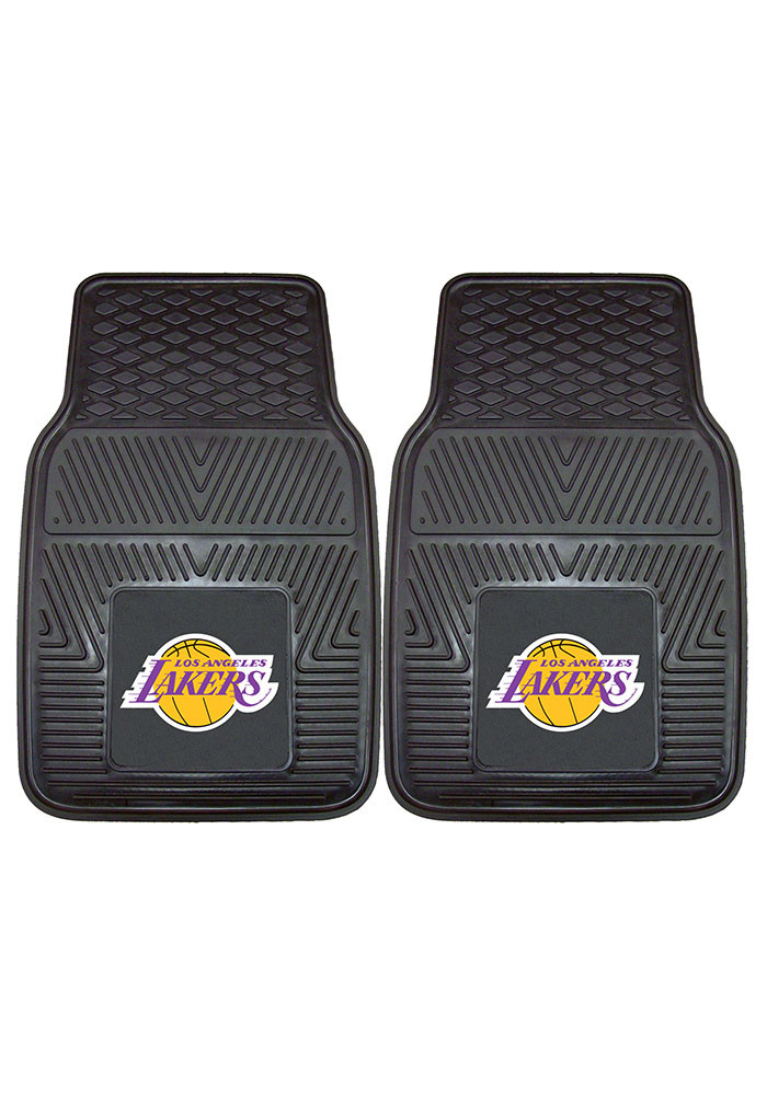 Los Angeles Lakers 18x27 Vinyl Car Mat - Image 2