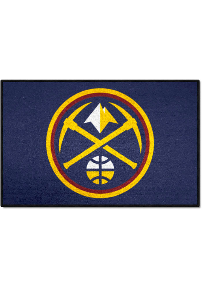 Denver Nuggets 19x30 Starter Interior Rug - Image 1