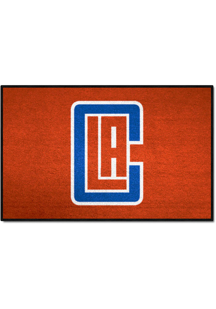 Los Angeles Clippers 19x30 Starter Interior Rug - Image 1