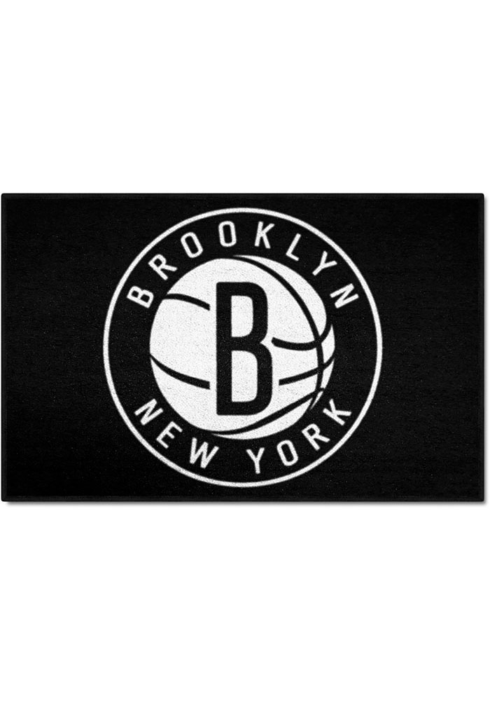 Brooklyn Nets 19x30 Starter Interior Rug - Image 1