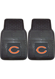 Sports Licensing Solutions Chicago Bears 18x27 Vinyl Car Mat - Black