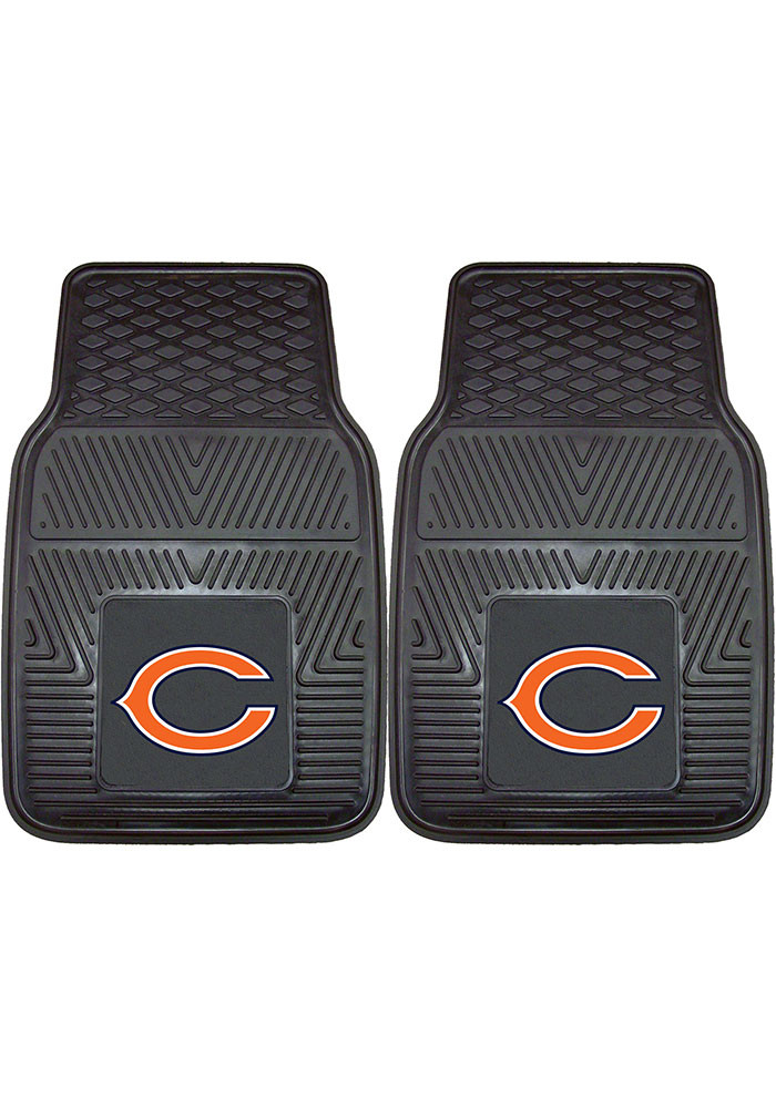 Chicago Bears 18x27 Vinyl Car Mat - Image 1