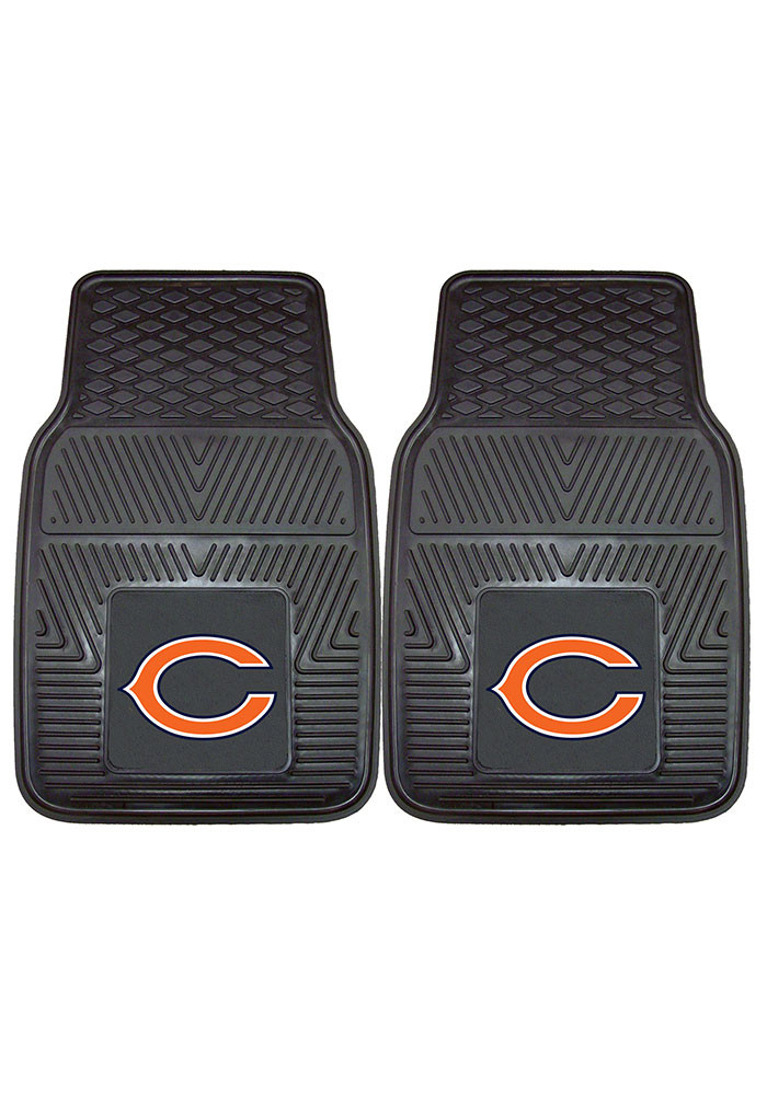 Chicago Bears 18x27 Vinyl Car Mat - Image 2