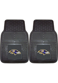 Sports Licensing Solutions Baltimore Ravens 18x27 Vinyl Car Mat - Black