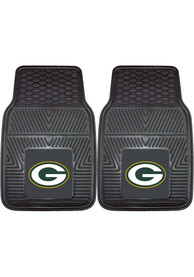 Sports Licensing Solutions Green Bay Packers 18x27 Vinyl Car Mat - Black