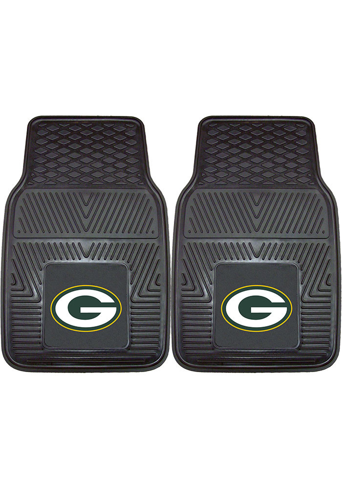 Green Bay Packers 18x27 Vinyl Car Mat - Image 1