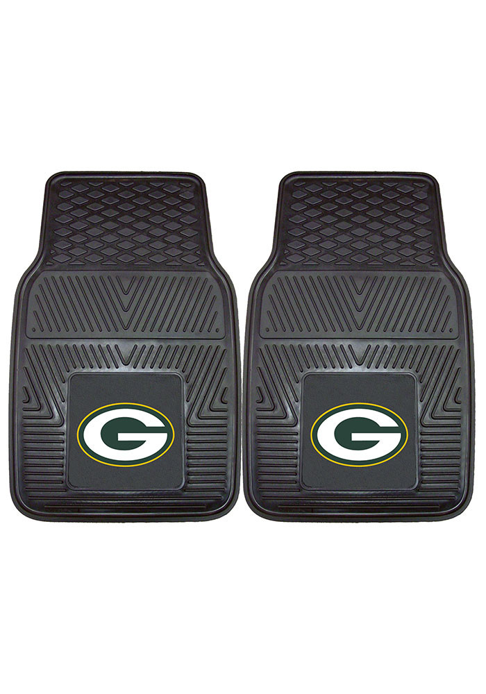 Green Bay Packers 18x27 Vinyl Car Mat - Image 2