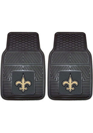 New Orleans Saints 18x27 Vinyl Car Mat