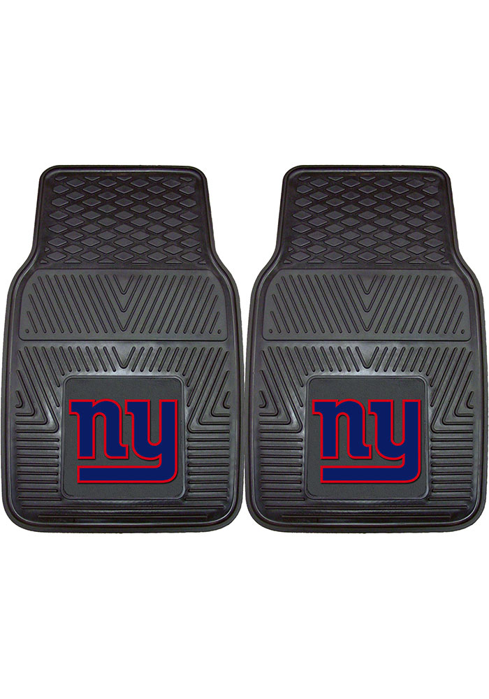 Sports Licensing Solutions New York Giants 18x27 Vinyl Car Mat - Black - Image 1