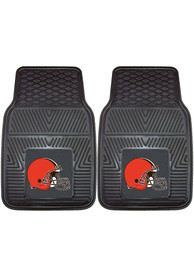 Sports Licensing Solutions Cleveland Browns 18x27 Vinyl Car Mat - Black