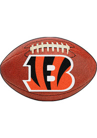 Cincinnati Bengals 22x35 Football Interior Rug