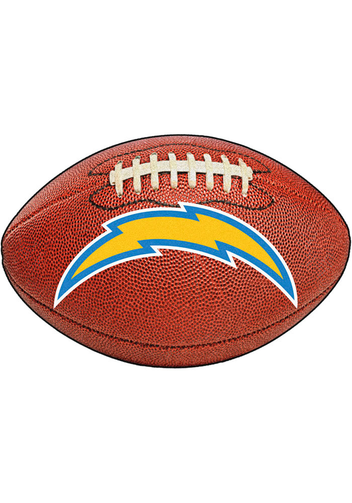 Los Angeles Chargers 22x35 Football Interior Rug - Image 1