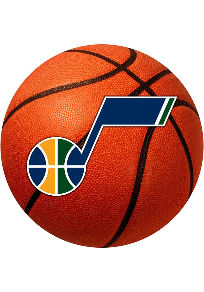 Utah Jazz 27` Basketball Interior Rug - Image 1