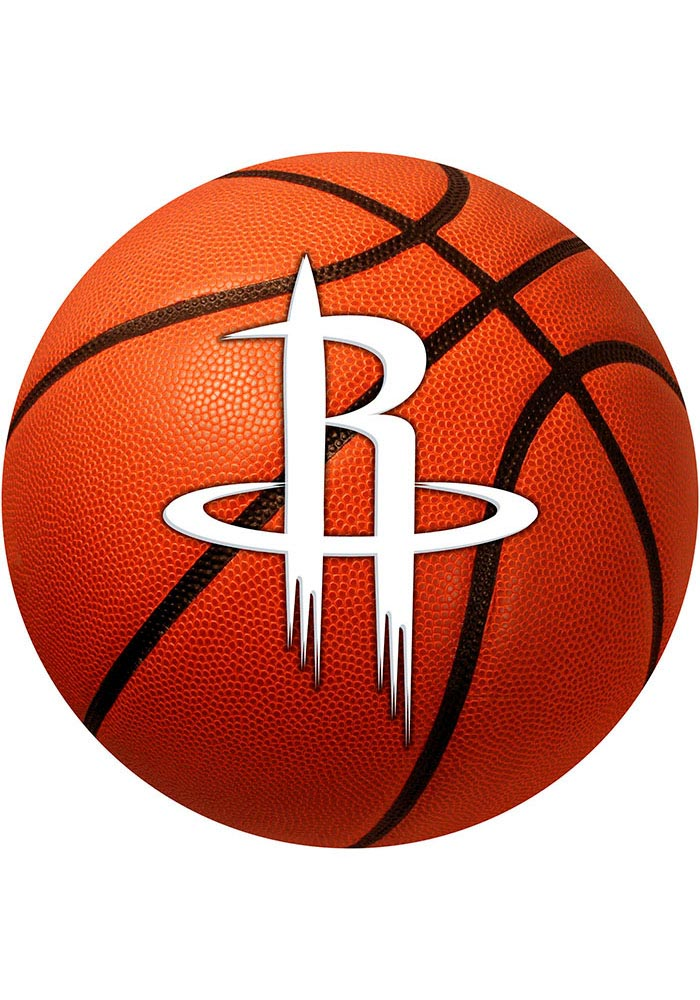 Houston Rockets 27` Basketball Interior Rug - Image 1