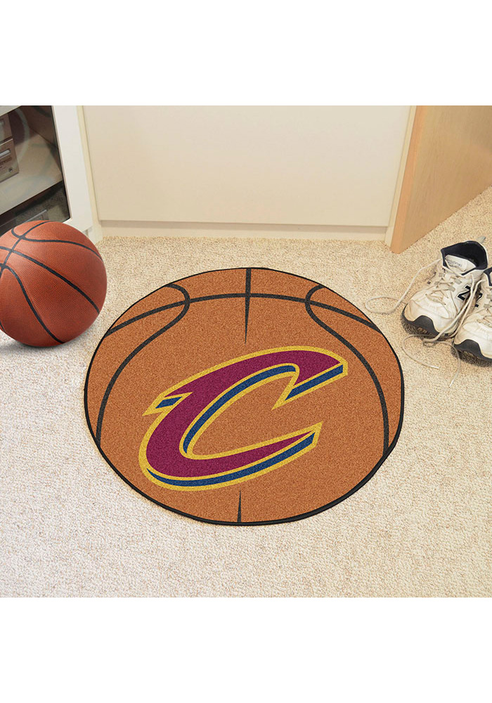 Cleveland Cavaliers 27` Basketball Interior Rug - Image 1