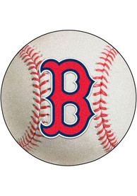Boston Red Sox 27` Baseball Interior Rug