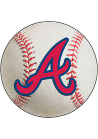 Atlanta Braves 27` Baseball Interior Rug