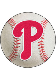 Philadelphia Phillies 27` Baseball Interior Rug