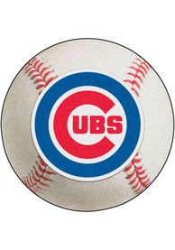 Chicago Cubs 27` Baseball Interior Rug