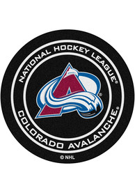 Colorado Avalanche 27` Puck Interior Rug