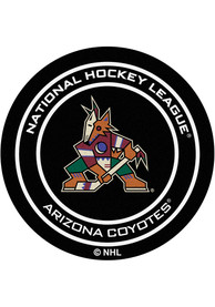 Arizona Coyotes 27` Puck Interior Rug