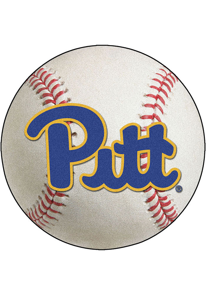 Pitt Panthers 27` Baseball Interior Rug - Image 1