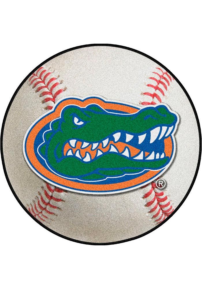Florida Gators 27` Baseball Interior Rug - Image 1