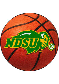 North Dakota State Bison 27` Basketball Interior Rug