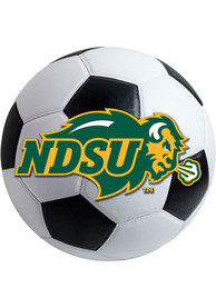 North Dakota State Bison 27 Inch Soccer Interior Rug