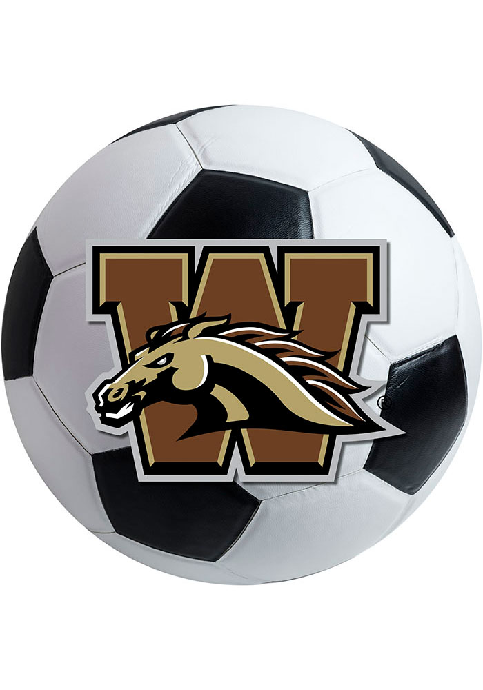 Western Michigan 27 Inch Soccer Interior Rug - Image 1