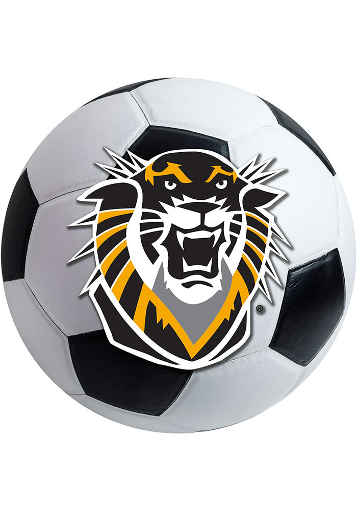 Fort Hays State Tigers 27 Inch Soccer Interior Rug - Image 1