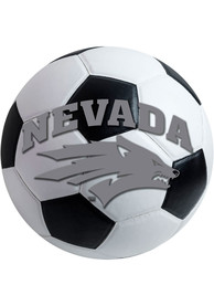 Nevada Wolf Pack 27 Inch Soccer Interior Rug